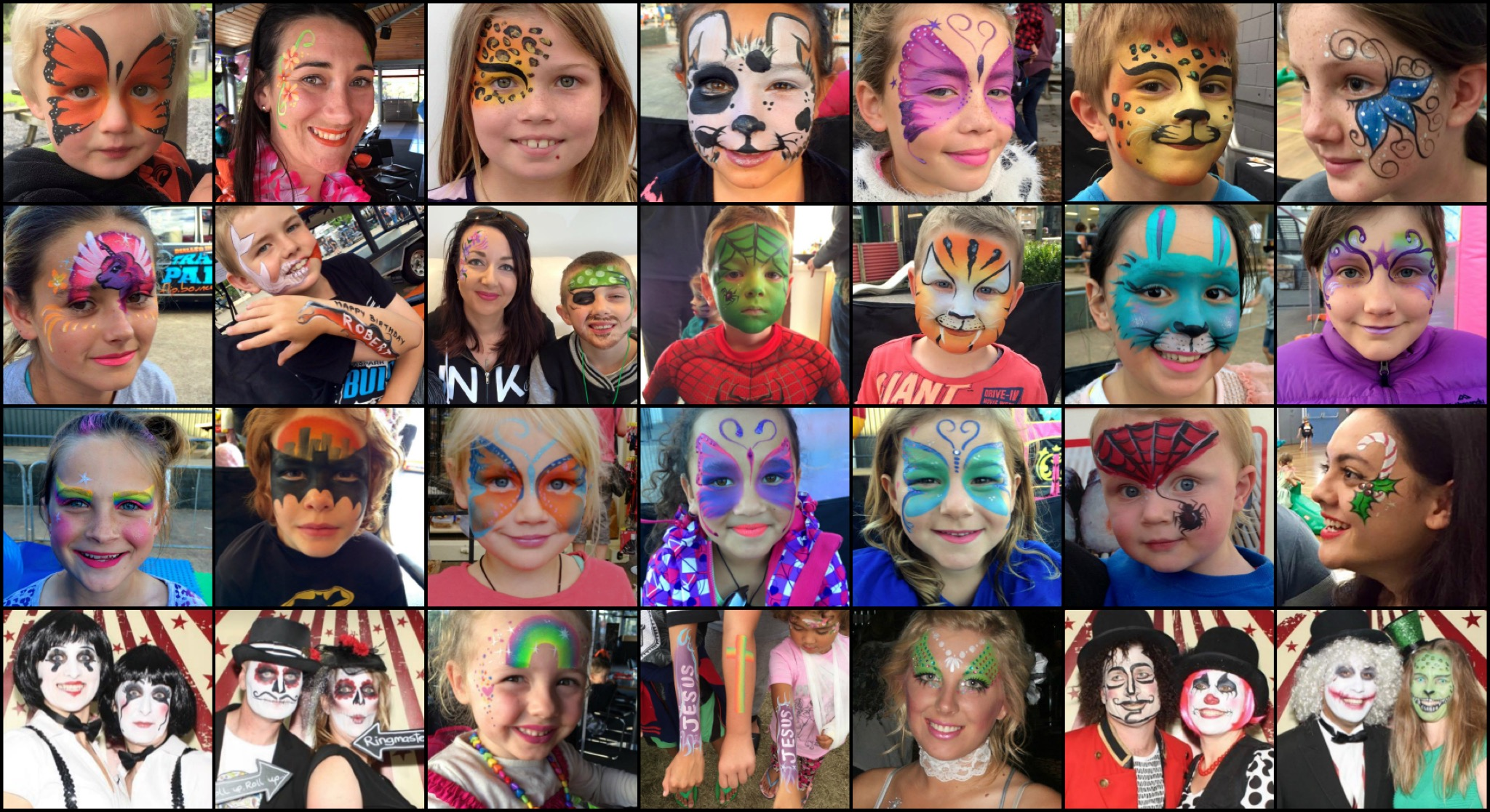 Face Painting – Lillybeth: A Beautiful Education